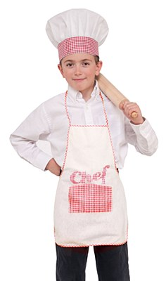 Chef Child Apron And Hat Set