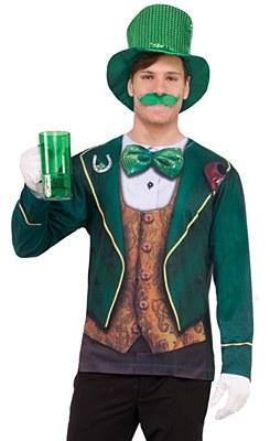 Irish Leprechaun Adult Shirt