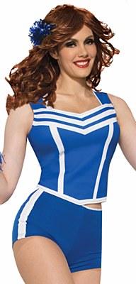 Cheerleader Blue Booty Shorts
