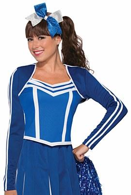 Cheerleader Blue Shrug Jacket