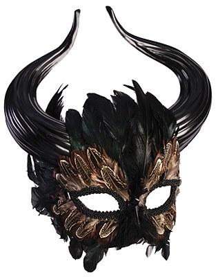 Minotaur Mardi Gras Mask