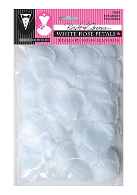White Rose Petals - Bag of 150