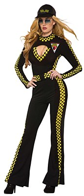 Racecar Lady Adult Costume