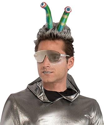 Alien Eyes Tentacle Headband