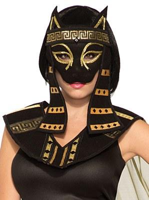 Bastet Egyptian Mardi Gras Mask