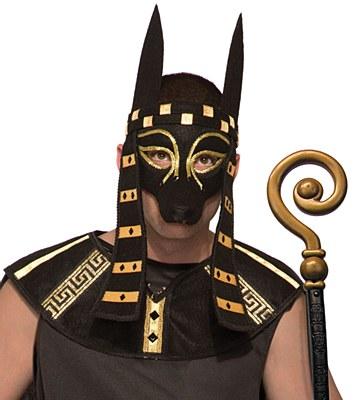 Anubis Egyptian Mardi Gras Mask