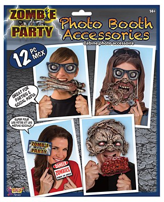 Zombie Party Photo Booth Kit