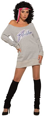 Flashdance 80's Workout Adult Costume
