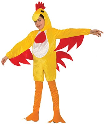Clucky Chicken Child Costume
