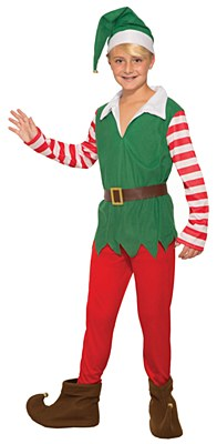 Santa's Helper Boy Child Costume