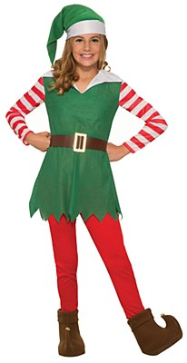 Santa's Helper Girl Child Costume