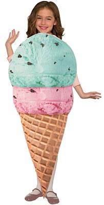 Ice Cream Cone Child Costume