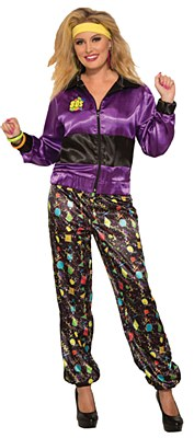 80's Woman Track Suit Adult Costume