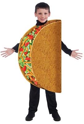 Taco Child Costume