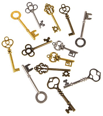 Steampunk Key Assorted Pack