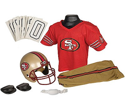 San Francisco 49ers Deluxe Child Costume