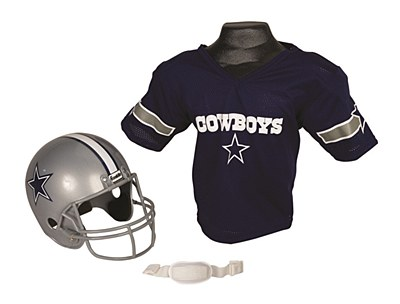NFL Dallas Cowboys Child Jersey And Helmet Set