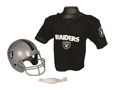 NFL Oakland Raiders Child Jersey And Helmet Set