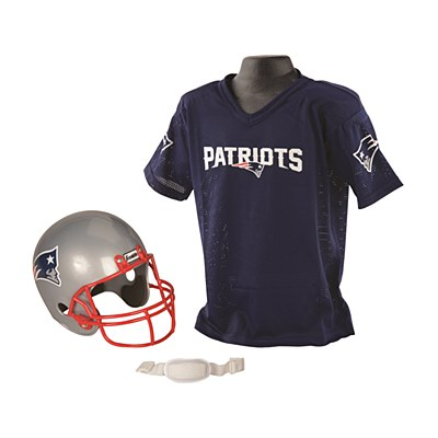NFL New England Patriots Child Jersey And Helmet Set