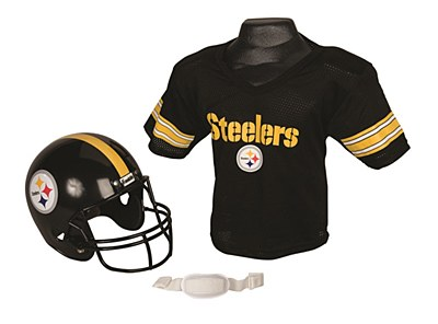 NFL Pittsburgh Steelers Child Jersey And Helmet Set