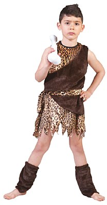 Cave Ancient Hunter Child Costume