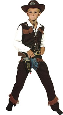 Best Of The West Cowboy Teen Costume