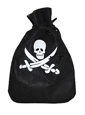 Skull And Swords Pirate Pouch