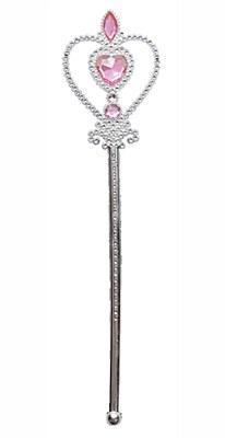 Heart Shape Pink Jewel Princess Wand