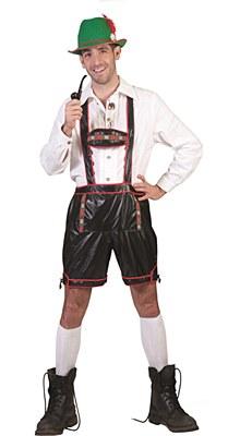 Lederhosen Bavarian Shorts And Suspenders