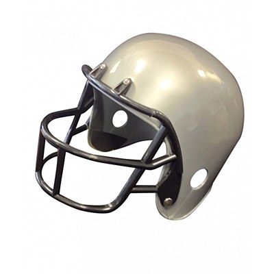 Football Helmet - Grey