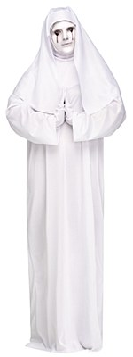 Scary Mary Sister Nun Adult Plus Costume