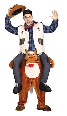 Carry Me Horse Adult Costume