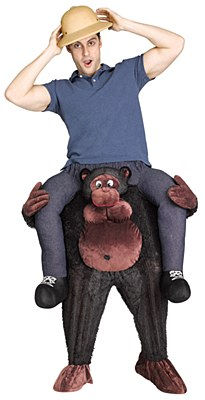 Carry Me Gorilla Adult Costume