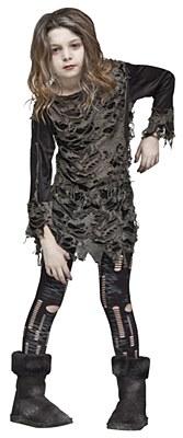 Walking Zombie Child Costume