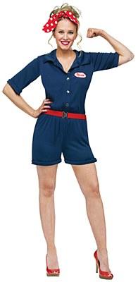Rosie the Riveter Adult Costume