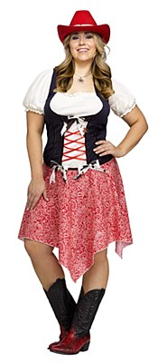 Hoedown Honey Adult Plus Costume
