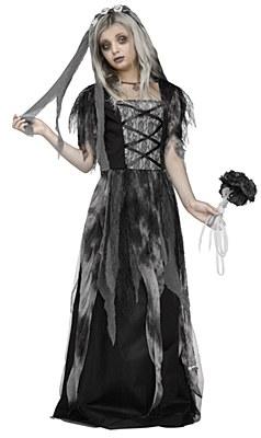 Cemetary Dead Bride Child Costume