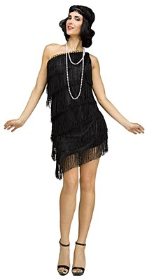 Shimmery Flapper Adult Costume