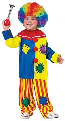Big Top Clown Toddler Costume