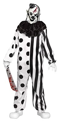 Killer Clown Teen Costume