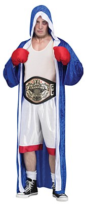 Big Champ Boxer Adult Costume
