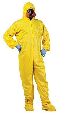 Hazmat Suit Adult Costume