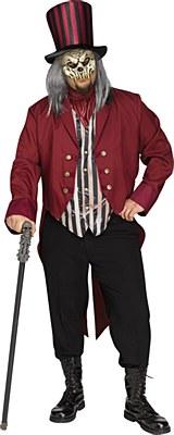 Freak Show Ring Master Adult Plus Costume