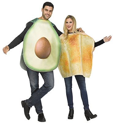 Avocado & Toast Adult Costumes