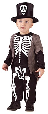 Happy Skeleton Toddler Costume