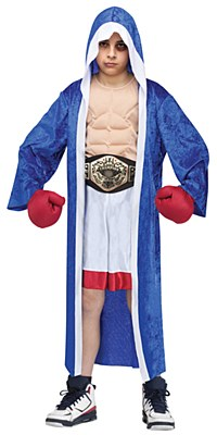 Lil' Champ Boxer Child Costume