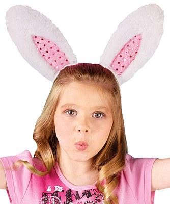 Sparkle Bunny Ears Headband