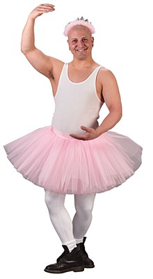 Grande Men's Pink Tutu Skirt