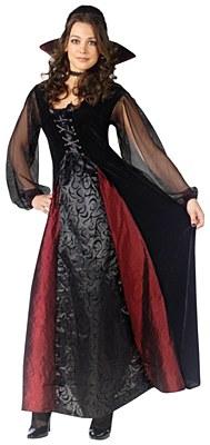 Goth Maiden Vampiress Adult Costume