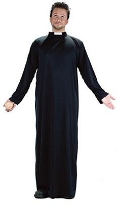 """Keep Up The Faith"" Priest Adult Costume"